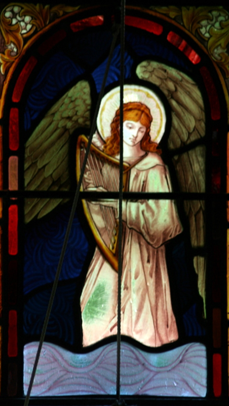 Draynes angel with harp